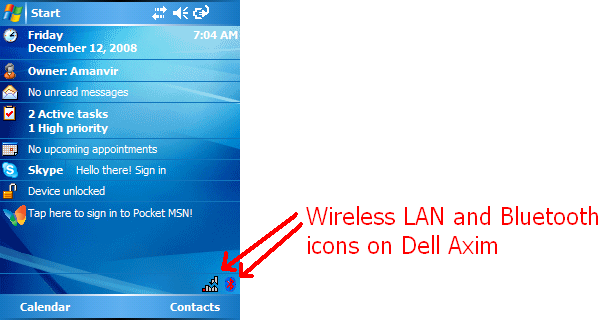 Programmatically display system tray icon on Windows Mobile