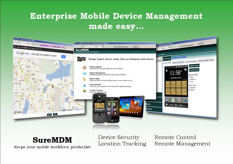 SureMDM Product handout (Front)