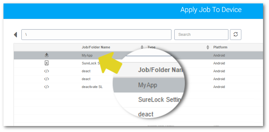 suremdm-apply-select