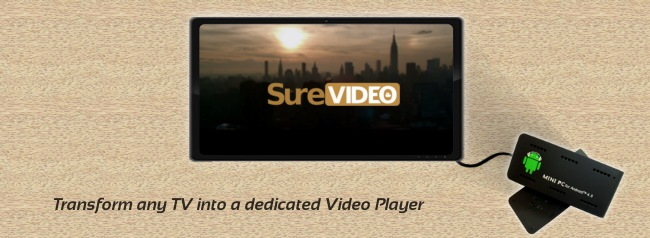 Prepare a Kiosk Video Player using Surevideo & Miniand's MK803