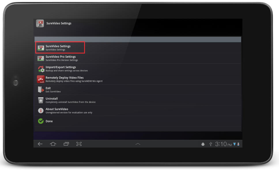 surevideo_settings