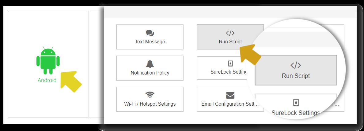 suremdm-select-run-script