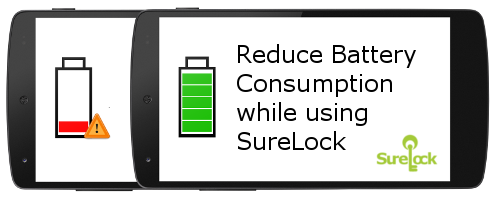 Control Battery Power Usage with SureLock