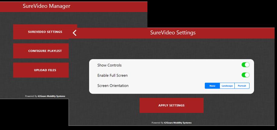 surevideo_settings_screenshot