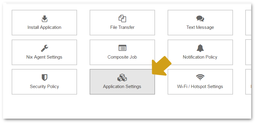 suremdm-application-settings