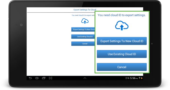 surevideo_export_cloud_options