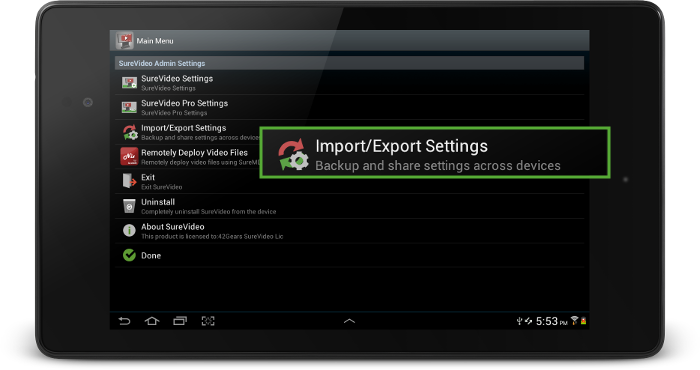 surevideo_import_export_settings (1)