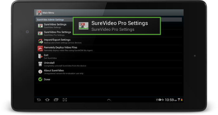 surevideo_pro_settings