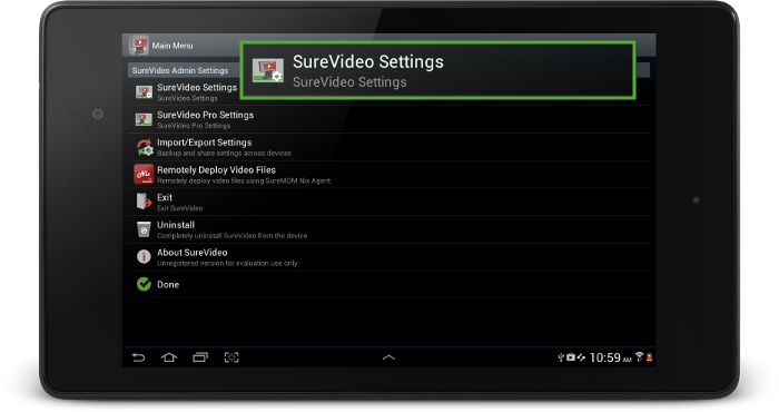 surevideo_settings