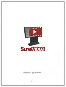 surevideo_welcome_screen