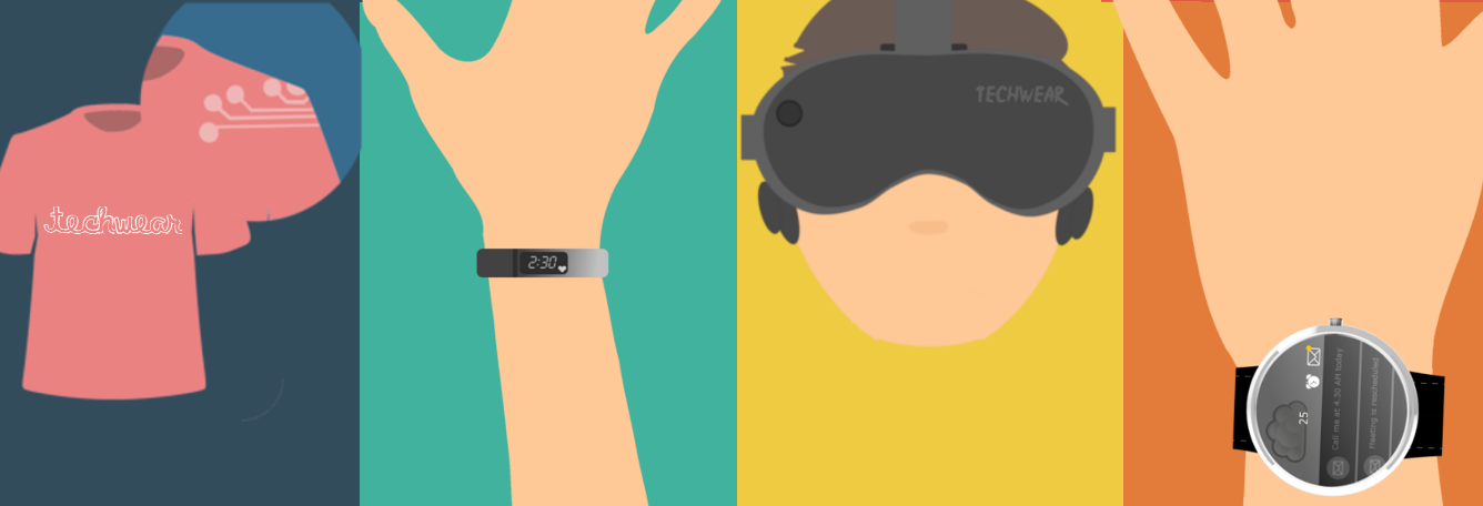 types of wearable technolgy