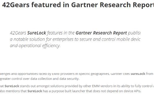 42Gears-Gartner-News-April-2016