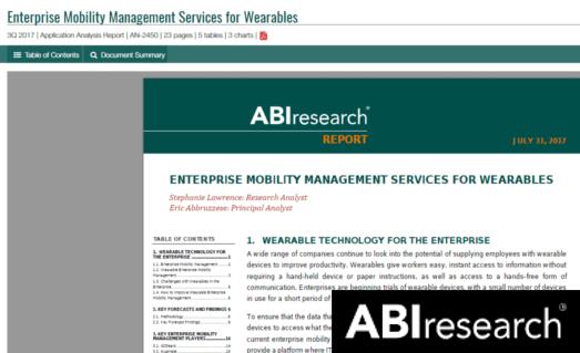 ABI Research - July 2017