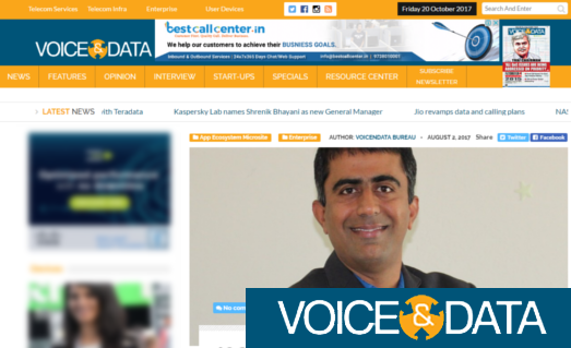 Voice and Data - News