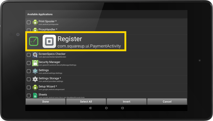 select_register_allowed_app