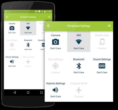 quick-settings-single-app-mode-pheriperal