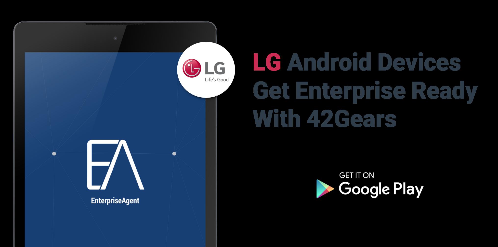 EA for LG-Banner