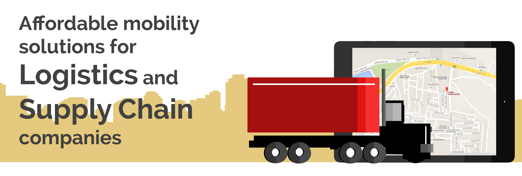 Affordable mobility solutions for Logistics and Supply Chain companies