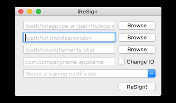 Mobile Provision Profile - browse