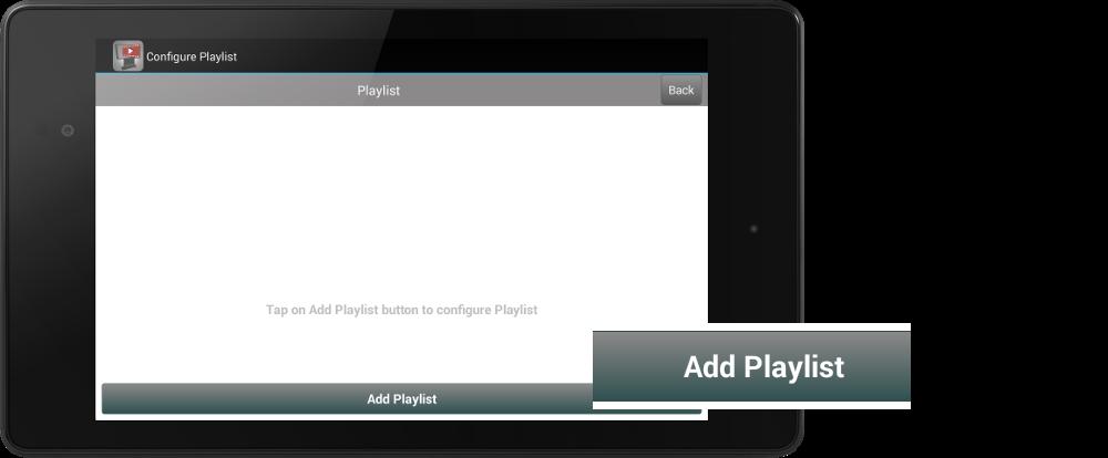 Stream YouTube Videos - add-playlist
