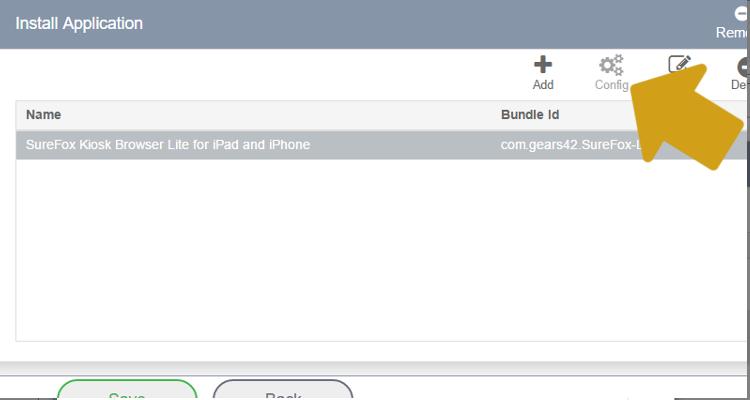 install-surefox-configure