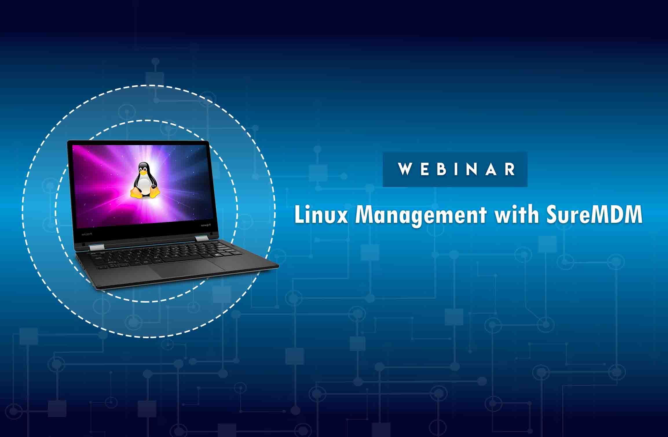 Linux Management with SureMDM