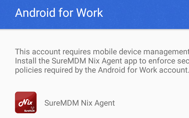 Support Dedicated Devices with Android Enterprise using