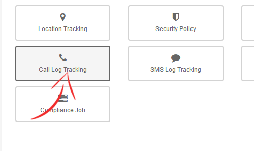 SureMDM - Select Call Tracking Job