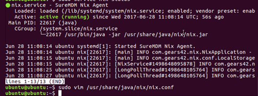 Remote Management of Linux Devices with SureMDM - Execute following command