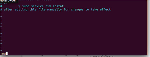 Remote Management of Linux Devices with SureMDM - pressing Exit and enter wq