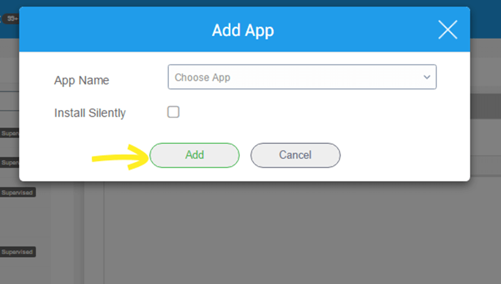 Enterprise App Store for Android and iOS devices using SureMDM