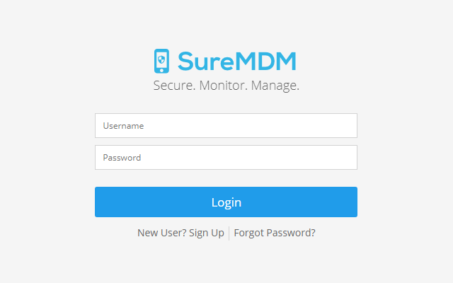 Login to SureMDM