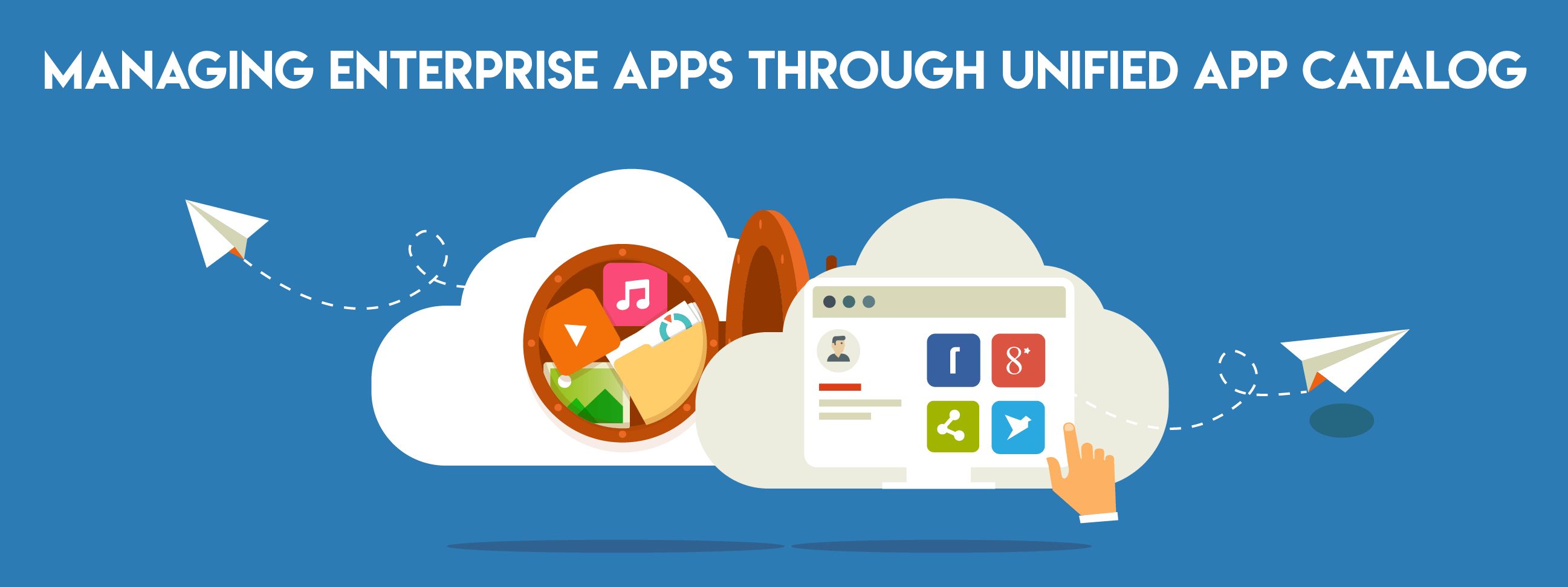 Managing Enterprise Apps through Unified App Catalog