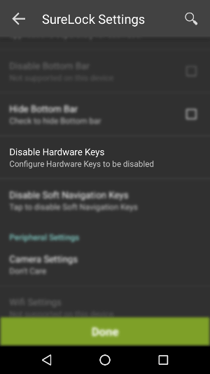 Disable Hardware Buttons - How to Disable Hardware Buttons on Android Devices Using SureLock