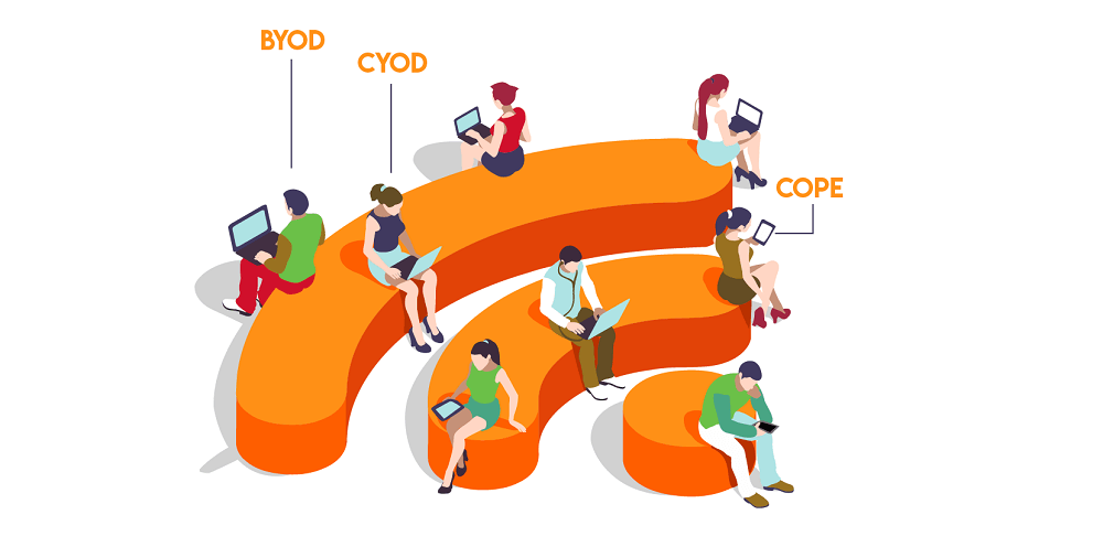 Difference Between BYOD, CYOD and COPE