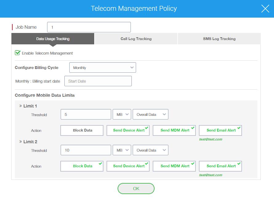 Telecom Expense Management - Telecom Management Policy