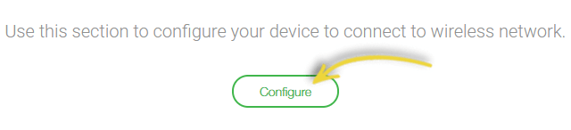 Once you select Wi-Fi configuration, click Configure and Add.