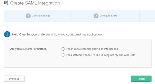 Single Sign-On - Multi Factor Authentication - SAML Settings