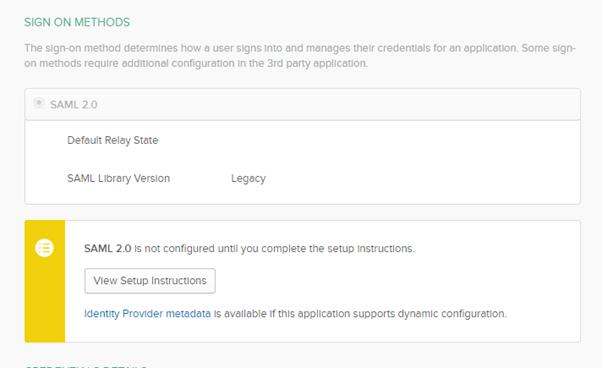 Single Sign-On - Multi Factor Authentication - Setup Instructions