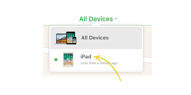 How to find lost iOS devices with MDM - Select iPhone