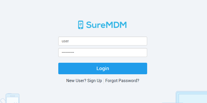 How to find lost iOS devices with MDM - SureMDM Login
