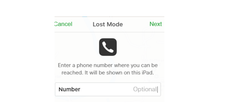 How to find lost iOS devices with MDM - choose Lost mode