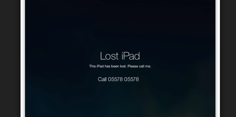 How to find lost iOS devices with MDM - Message