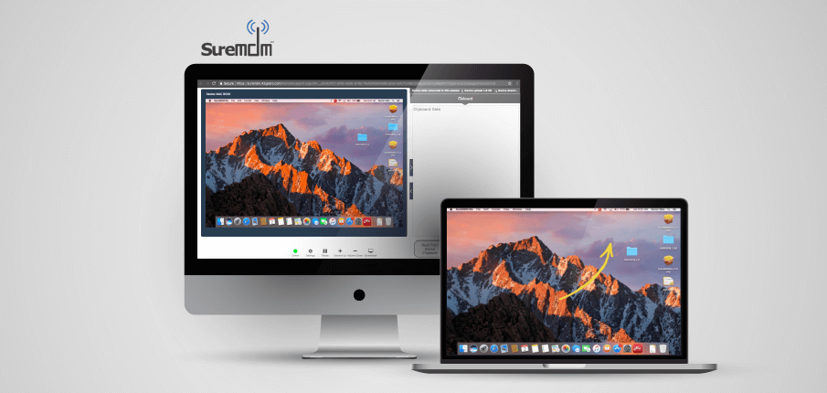 Remotely view macOS device screens Banner