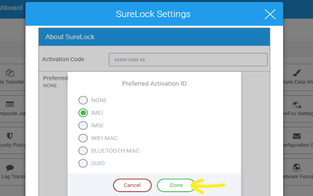 How to Activate SureLock, SureFox and SureVideo Licenses from SureMDM - Preferred Activation Code