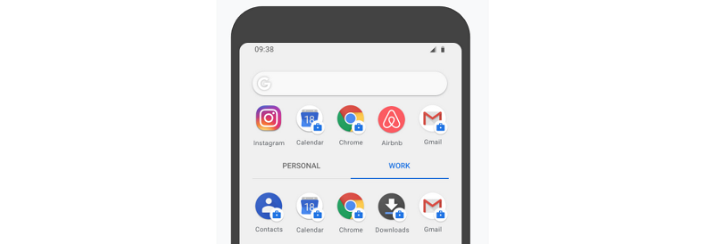 Android P: what's new for enterprises - Work Profile Management