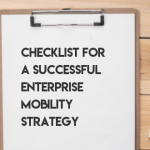 Featured Image -Checklist for a successful Enterprise Mobility Strategy