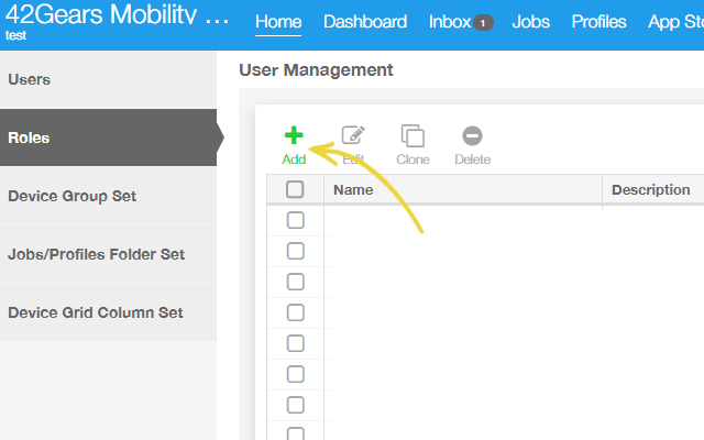 Make User Management Easy with SureMDM-Add Roles