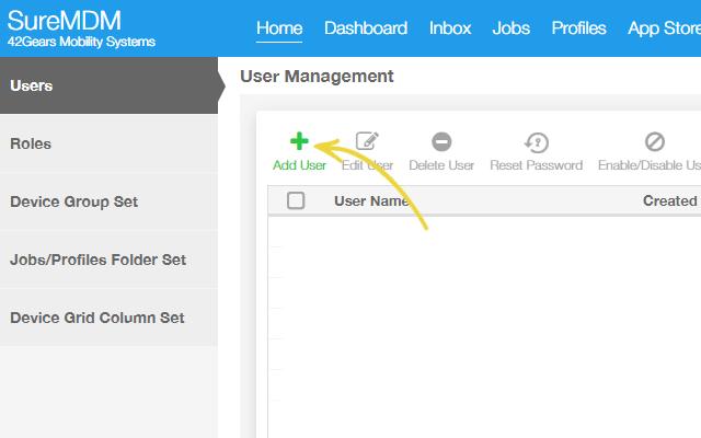 Make User Management Easy with SureMDM- Add User