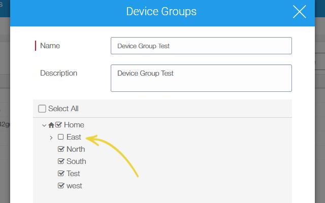 Make User Management Easy with SureMDM- deselect group